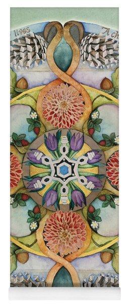 Seasons Mandala Yoga Mat