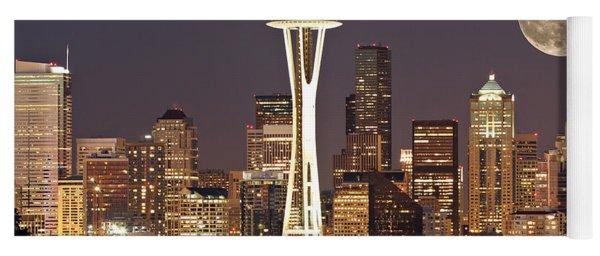 Seattle Full Moon Yoga Mat