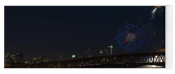 Seattle Fireworks Yoga Mat