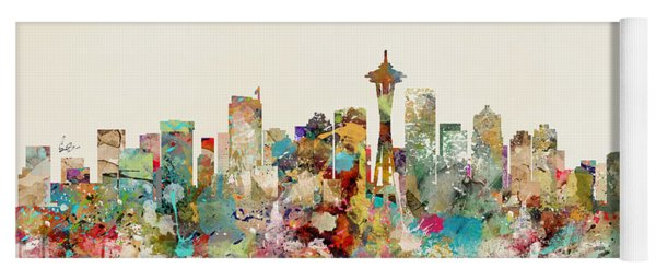 Seattle Washington Yoga Mat
