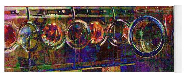 Secret Life Of Laundromats Yoga Mat
