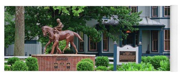 Secretariat Statue At The Kentucky Horse Park Yoga Mat