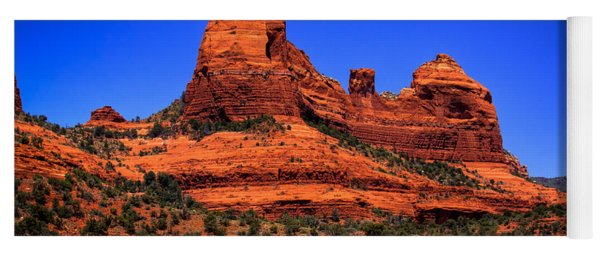 Sedona Rock Formations Yoga Mat