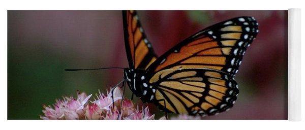 Sedum Butterfly Yoga Mat