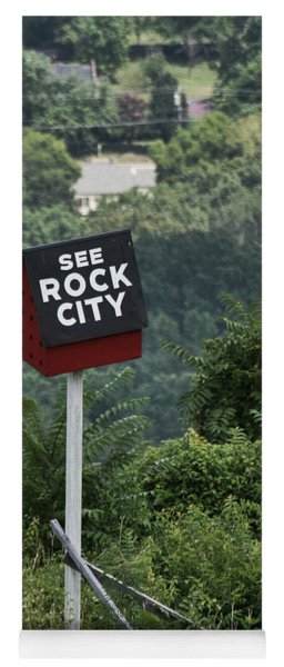 See Rock City Yoga Mat