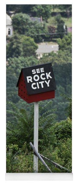 See Rock City Yoga Mat