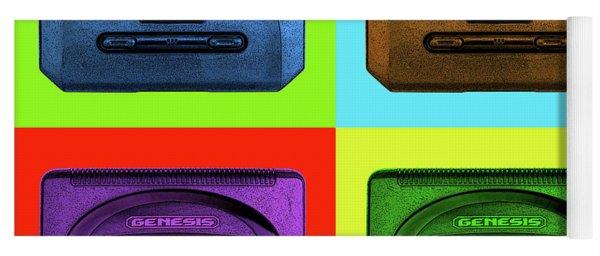 Sega Genesis Yoga Mat