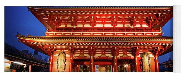 Sensoji Temple Tokyo Yoga Mat