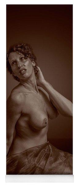 Sensual Nude Yoga Mat