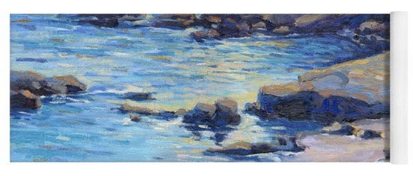 September Light / Laguna Beach Yoga Mat