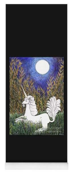 September Unicorn Yoga Mat
