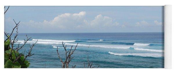 Serene Ocean View Yoga Mat