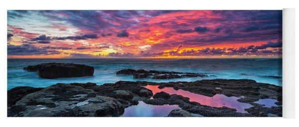 Serene Sunset Yoga Mat