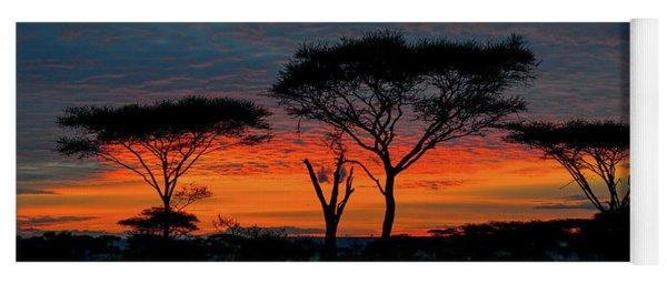 Serengeti Sunrise Yoga Mat