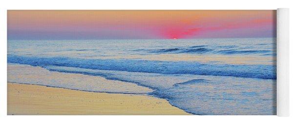 Serenity Beach Sunrise Yoga Mat