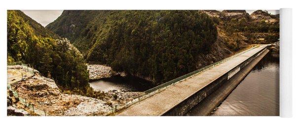 Serpentine River Crossing Yoga Mat