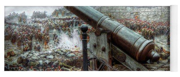 Sevastopol Cannon 1855 Yoga Mat