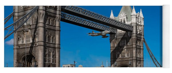 Seven Seconds - The Tower Bridge Hawker Hunter Incident  Yoga Mat