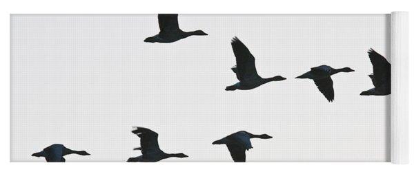 Sevenfold Geese Yoga Mat