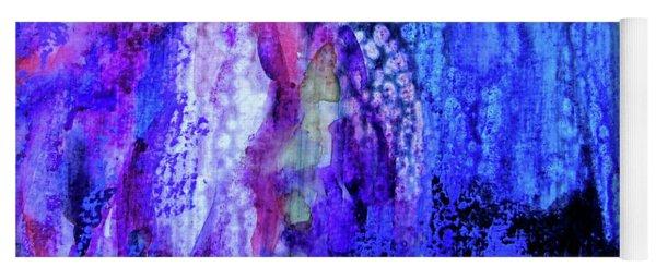 Shadow Abstract Bloom Yoga Mat