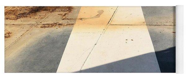 Shadow Lines Yoga Mat