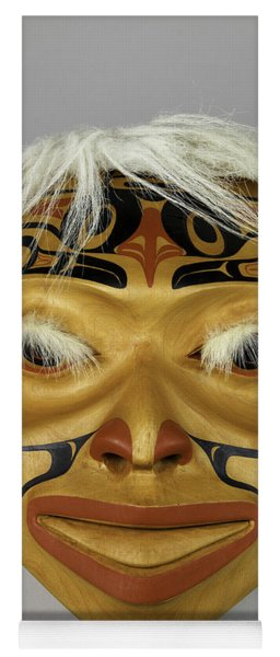 Shaman's Mask Yoga Mat