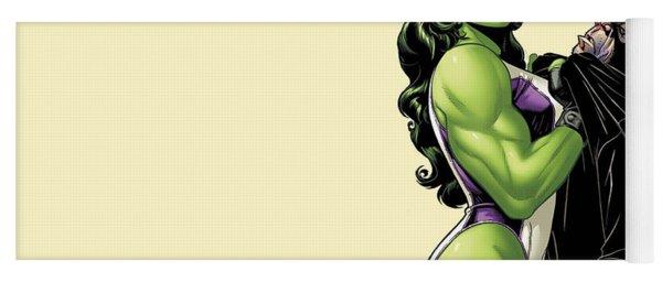 She-hulk Yoga Mat