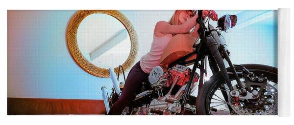 She Rides- Yoga Mat
