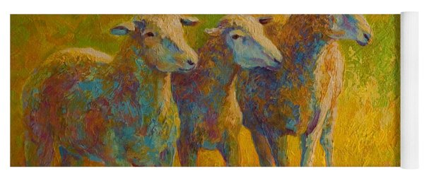 Sheep Trio Yoga Mat