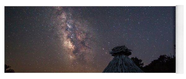 Sheepfold Under The Stars Yoga Mat