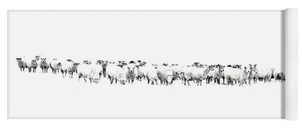 Sheeple  Yoga Mat