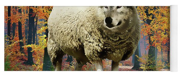 Sheep's Clothing Yoga Mat