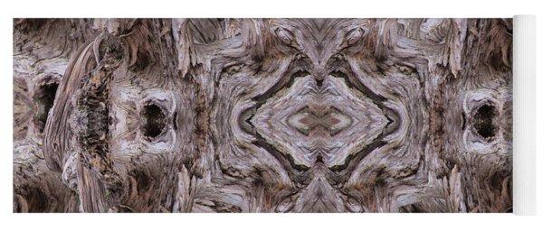 Sheep's Head Vortex Kaleidoscope Yoga Mat