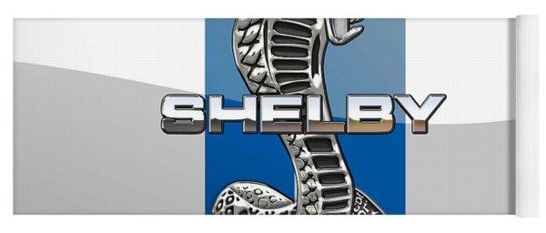 Shelby Cobra - 3d Badge Yoga Mat