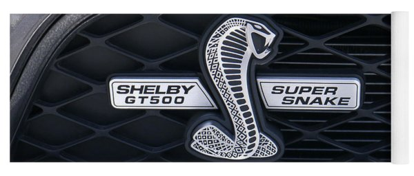 Shelby Gt 500 Super Snake Yoga Mat