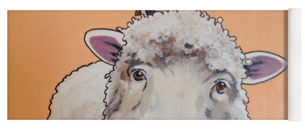 Shelley The Sheep Yoga Mat