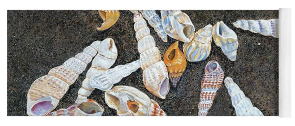Shells From The Sea Of Galilee Yoga Mat
