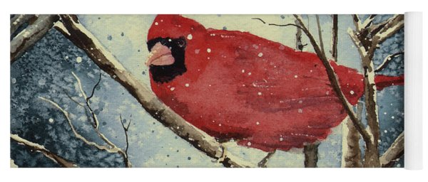 Shelly's Cardinal Yoga Mat