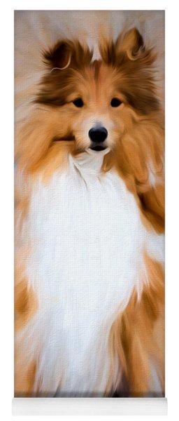 Shetland Sheepdog - Sheltie Yoga Mat