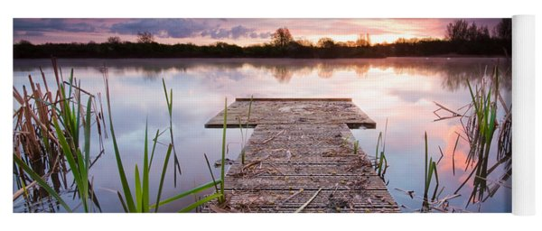 Shinewater Lake Sunrise Yoga Mat