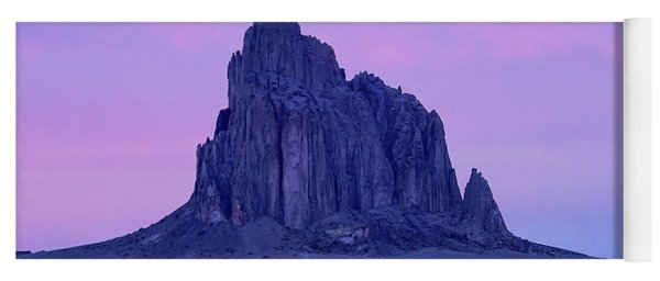 Ship Rock New Mexico Yoga Mat