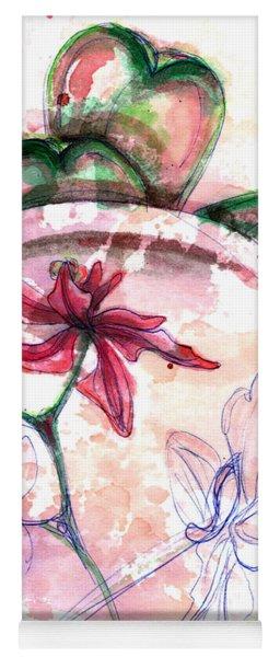 Shiraz Orchid II Yoga Mat