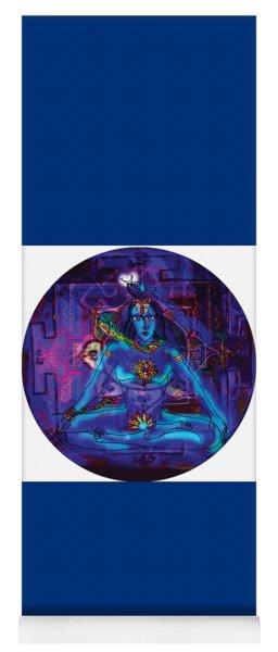 Shiva In Meditation Yoga Mat