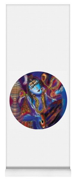 Shiva Playing The Drums Yoga Mat