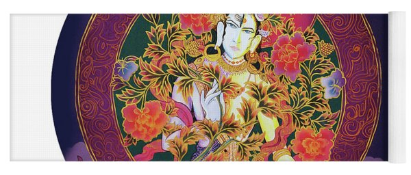 Shiva Shakti Yin And Yang Yoga Mat