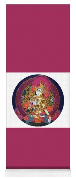 Shiva Shakti Yin And Yang Yoga Mat