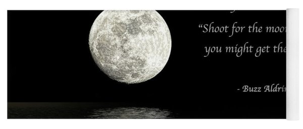 Shoot For The Moon Yoga Mat