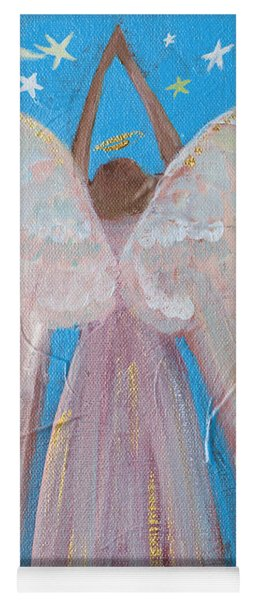 Shooting Star Angel Yoga Mat