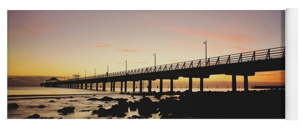 Shorncliffe Pier At Dawn Yoga Mat