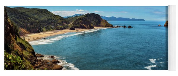 Short Beach, Oregon Yoga Mat